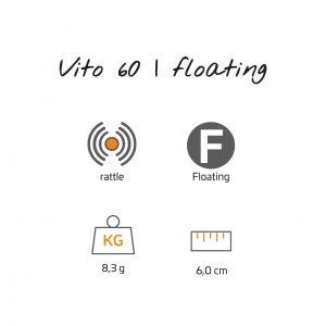 Vito 6 cm | Surface F
