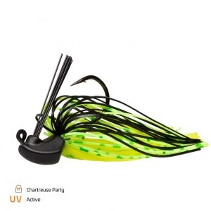 Skirted Jig Chartreuse Party - #4/0